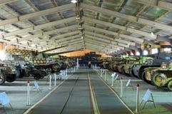MOSCOW REGION, RUSSIA - JULY 30, 2006: Tank Museum, Kubinka near Stock Photography