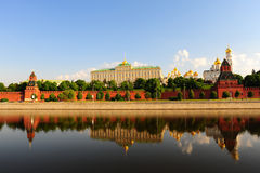 Moscow-river Royalty Free Stock Photography