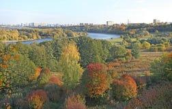 Moscow river Kolomenskoye, Moscow Stock Photography