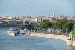 Moscow River Stock Photography