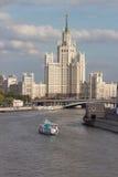 Moscow river Stock Photos