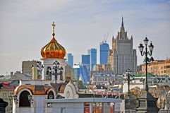 Moscow roofs, Russia Stock Image