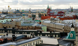 Moscow rooftops Royalty Free Stock Photography