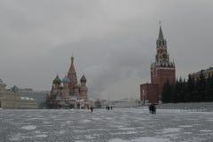 moscow Rosji czerwony kwadrat Fotografia Royalty Free