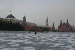 moscow Rosji czerwony kwadrat Zdjęcia Royalty Free