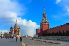 moscow Rosji Plac Czerwony Zdjęcie Royalty Free