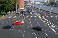 moscow ruch drogowy Obraz Stock