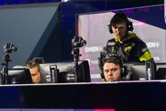 Free MOSCOW, RUSSIA - 14th SEPTEMBER 2019: Esports Counter-Strike: Global Offensive Event. Players Of A Team Natus Vincere On Royalty Free Stock Images - 159361159