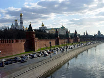 Moscow, Russia. View from the Moscow river royalty free stock photo