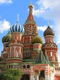 Moscow, Russia. St. Basil's Cathedral on the Red Square in Moscow, Russia Royalty Free Stock Photography
