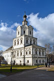 Moscow, Russia. Andronikov Monastery. Walls and towers. Royalty Free Stock Photography