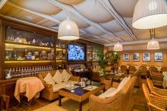 Restaurant interior shot Royalty Free Stock Photo