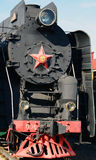 Moscow, Russia - April 1.2017. Steam locomotive Sormovskiy amplified series. Moscow, Russia - April 1.2017. Steam locomotive of Sormovskiy amplified series Stock Images