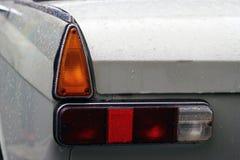 MOSCOW, RUSSIA - April 16, 2016: vintage soviet car, Moskvich - 412 Exhibition Of Mosgortrans. MOSCOW, RUSSIA - April 16, 2016: Vintage classic soviet car Stock Photos
