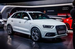 MOSCOW, RUSSIA - AUG 2012: AUDI Q3 2.0 T QUATTRO presented as wo Stock Photo