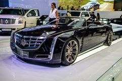 MOSCOW, RUSSIA - AUG 2012: CADILLAC CIEL CONCEPT presented as wo Royalty Free Stock Images