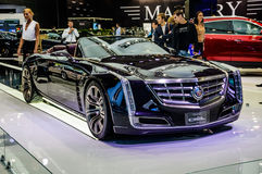 MOSCOW, RUSSIA - AUG 2012: CADILLAC CIEL CONCEPT presented as wo Stock Photo