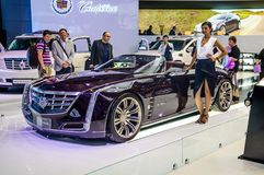 MOSCOW, RUSSIA - AUG 2012: CADILLAC CIEL CONCEPT presented as wo Royalty Free Stock Photography