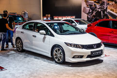 MOSCOW, RUSSIA - AUG 2012: HONDA CIVIC presented as world premie Stock Photo