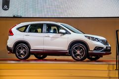 MOSCOW, RUSSIA - AUG 2012: HONDA CR-V 4TH GENERATION presented a Stock Photo