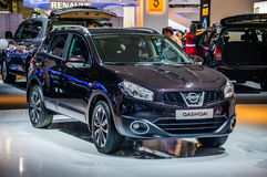 MOSCOW, RUSSIA - AUG 2012: NISSAN QASHQAI presented as world pre Royalty Free Stock Image