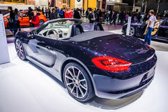 MOSCOW, RUSSIA - AUG 2012: PORSCHE BOXSTER S 981 presented as wo Royalty Free Stock Images