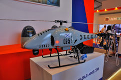 MOSCOW, RUSSIA - AUG 2015: UAV Mobile radar system presented at Royalty Free Stock Image