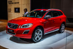 MOSCOW, RUSSIA - AUG 2012: VOLVO XC60 presented as world premier Royalty Free Stock Image
