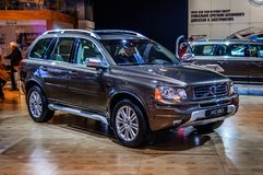 MOSCOW, RUSSIA - AUG 2012: VOLVO XC90 presented as world premier Stock Images