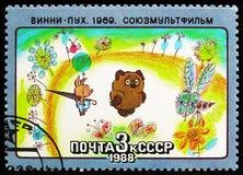 Winnie-Pooh, Soviet Cartoon Films serie, circa 1988