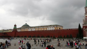 Moscow, Russia. August 16, 2015: Red Square. Panoramic view. stock video