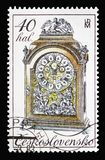 18th century clocks, Historic clocks serie, circa 1982 stock photos
