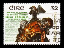 Easter Rising 1916, 75th Anniversary, serie, circa 1991 stock photography