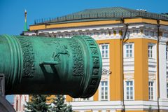 The Tsar Cannon royalty free stock photography