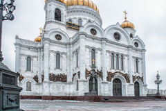 Moscow, Russia. Christ the Savior Cathedral. Royalty Free Stock Photos