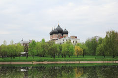 Moscow, Russia. Church of the Intercession of the Virgin in Izma Stock Photos