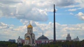 Church of St. George on Poklonnaya Hill. Moscow, Russia Church of St. George on Poklonnaya Hill Stock Image