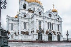 moscow russia domkyrkachrist frälsare Royaltyfria Foton