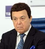Iosif Kobzon, Soviet and Russian pop singer baritone, musical and public figure, teacher. Russian state Duma Deputy II-VI convoc Royalty Free Stock Photography