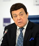 Iosif Kobzon, Soviet and Russian pop singer baritone, musical and public figure, teacher. Russian state Duma Deputy II-VI convoc Royalty Free Stock Image