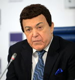 Iosif Kobzon, Soviet and Russian pop singer baritone, musical and public figure, teacher. Russian state Duma Deputy II-VI convoc Stock Photos