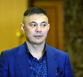 Legendary boxer Konstantin Tszyu. Royalty Free Stock Photography