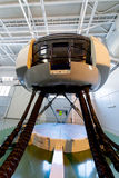 Moscow, Russia - February 18, 2015: Real Flight Hydraulic Simulator for the Training of the Pilots. Stock Photography