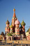 Moscow, Russia -February 18.2016. St. Basil's Cathedral on Red Square Stock Photos