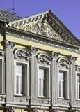 moscow russia Hus av M G Levina på den ingen Goncharnaya gatan 27/6 i Moskva för eulalia för barcelona catalonia domkyrkadetalj s Royaltyfria Bilder