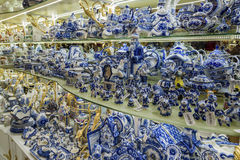 Moscow, Russia - January 10 2015 Ceramic tableware Stock Photography