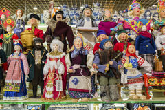 Moscow, Russia - January 10 2015.  dolls are Stock Photography