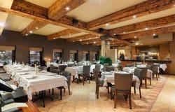 MOSCOW/RUSSIA - janvier 2015 restaurant pakistanais Photos stock