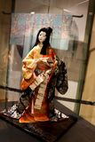 Moscow,Russia-12/25/2018 Japanese doll. royalty free stock photo