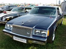 MOSCOW, RUSSIA - July 15, 2008: Buick Regal exhibition `Autoexotic 2008`. MOSCOW, RUSSIA - July 15, 2008: Black Buick Regal exhibition `Autoexotic 2008 Royalty Free Stock Photo